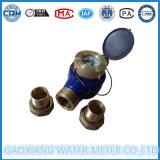 Multi Strahlen-Messingkarosserien-Impuls-Wasser-Messinstrument mit Threadred Anschluss