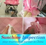 China-Baby-Spaziergänger-aus dritter Quelle Kontrolluntersuchung-Spaziergänger-Qualität, Sicherheit und Befolgung