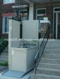 Handicap Vertical exterior Silla de Ruedas plataforma de elevación para minusválidos