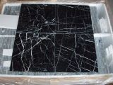 Polished / Flamed / Honed / Bush-Hammered / Swan-Cut / Natural / Pineapple / Nero Marquina Tile / Black Marquina Marble pour les dalles / Tiles / Composite / Countertopsvanity Tops