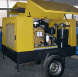 185 cfm, Unidade de Diesel, Compressor de ar de parafuso portátil (DSC-60)
