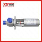 """3 """" válvula de desviador neumática sanitaria del acero inoxidable de 76.2m m SS304 SS316L"""