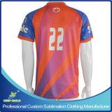 Kundenspezifische Sublimation-Drucken-Fußball-T-Shirts für Fußballspiel-Teams