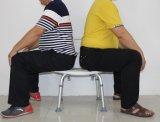 Assento do chuveiro do banheiro da sustentação da liga de alumínio para a altura do ajuste de Adult&Elderly