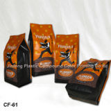 250g Side Gusset Foil Coffee Packaging Bag