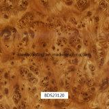 車の部品および毎日の使用Bds23240のための1mの幅のHydrographicsの印刷のフィルムの木パターン
