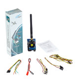 Transmissor video audio sem fio longo da escala 5.8g Fpv 40CH 1200MW