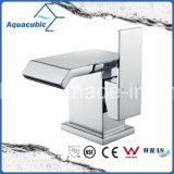 Colpetto cromato d'ottone del bacino della stanza da bagno degli articoli sanitari (AF6090-6)