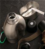 Il vuoto ha isolato 18/8 di acciaio inossidabile che si accampa/spaccio di bevande militare