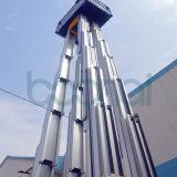 最大高さ10mのための4つのマストの空気作業プラットホーム
