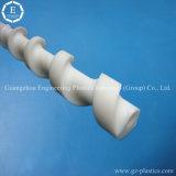 Acessórios de engenharia Custom UHMW-PE Polyethylenes Plastic Screw Products