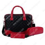 Computer portatile Bag dell'unità di elaborazione Leather Computer Bag per Girls Ladies