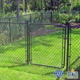 Enduit de PVC clôture métallique de maillon de chaîne pour la construction de la protection