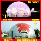 Transparent Clear White PVC Royal Godesic Tent