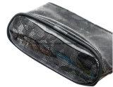 PVC transparent à la mode W/ dentelle Lady Cosmetic Sacs, sacs à maquillage avec Bow