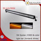 IP68 52 '' 300W Epistar LEIDENE Lichte Staaf voor 4X4