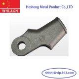 Material de construcción de la pieza de acero fundido del CNC de la precisión que trabaja a máquina