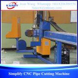tipo chiaro 3-Axis tagliatrice di CNC per il tubo rotondo