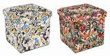 أثر قديم غلّة كرم إشارة تصميم مربع مكعّب [بو] جلد وخشبيّ يطوي تخزين مقادة [أتّومن] كرسيّ مختبر