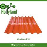 Beschichtet u. prägten Aluminiumring-Blatt (ALC1115)