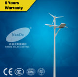 Nuovo vento di disegno 50W ed indicatore luminoso di via ibrido solare