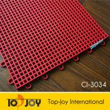 De met elkaar verbindende Plastic Tegels van de Vloer (ci-3034)