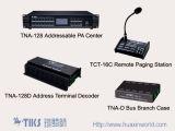 Sistema de PA endereçáveis (TNA-128)