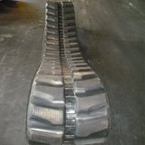 chenille en caoutchouc machinerie de construction (450x76x80) pour KOMATSU EXCAVATEUR