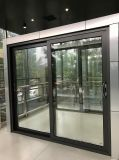 Porta deslizante de vidro de alumínio de Framen no pó Coateding