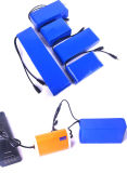 7.4V 6800mAh Batterie au Lithium Pack batterie LiFePO4 compteur de batterie pour instruments