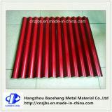 Folha Pre-Painted PPGI da telhadura do ferro ondulado
