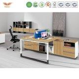 Escritorio de oficina de la melamina del administrador de oficinas con L vuelta de la dimensión de una variable (H90-0207)