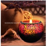 Candela naturale della soia di 100%, candela profumata romantica della soia
