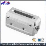 Kundenspezifisches Metall, das CNC-Maschinerie-Aluminiumpräzisionsteile aufbereitet