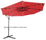 De openlucht Hangende Paraplu van het Staal met LEIDENE Lichten