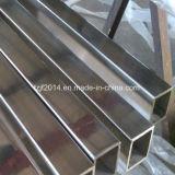 Acier inoxydable carré sans joint de la pipe Tp316 de qualité