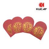 Рекламные Custom золотая фольга печать Lucky Pocket конверта
