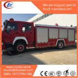 HOWO 6X4 LHD / Rhd 20000liter Water-Foam Tank Fire Fighting Truck