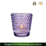 Fabricante de vidro Votive do suporte de vela de Tealight