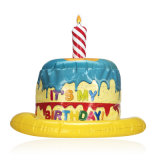 Sombrero inflable de la torta del PVC o de TPU del partido de la familia