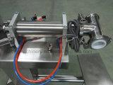 液体が付いている5-5000ml Guagnzhouの床のタイプ半自動ジュースの液体の充填機