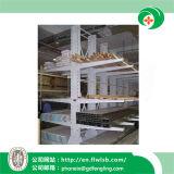 Estantería Cantilever de metal para almacén de estanterías de almacenamiento con Ce (FL-98)