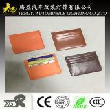 Бумажника PU поставкы фабрики владельца карточки портфолиа просто малый