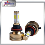 45W 4 lumineux superbes phare latéral de l'ÉPI DEL pour le phare simple de véhicule de faisceau de moto de véhicule