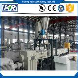 PP/EVA+Calcium Karbonat-Einfüllstutzen Masterbatch Extruder-Maschinen-/Russ-Doppelt-Schraubenzieher