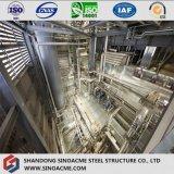 Estrutura de aço pesadas para a Planta Industrial