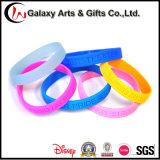 Gummimaterial geprägter Silikon-Armband-/SiliconeWristband