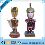 O costume faz o herói super Bobblehead, fabricante material personalizado de Polyresin Bobblehead China