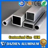 Het geanodiseerde Profiel van de Buis van de Legering van de Uitdrijving van het Aluminium van het Aluminium Vierkante/Ronde/Vlakke/Ovale