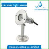 스테인리스 LED 수중 백색 반점 램프 옥외 조경 점화